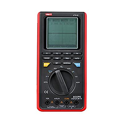 UNI-T UT81B Handheld LCD Scopemeters Oscilloscope 8MHz 40MS/s Real-Time Sample Rate Digital Multimeters With USB Interface