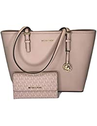 MICHAEL Michael Kors Jet Set Travel MD Carryall Tote bundled with Michael Kors Jet Set Travel