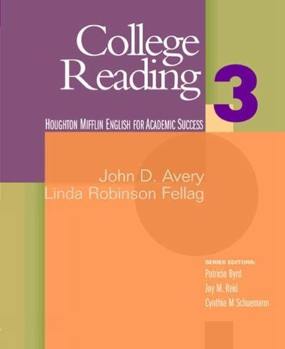 College Reading 3: Houghton Mifflin English for Academic...