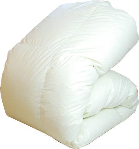 エクセルゴールド 英国産 ホワイトダックダウン 洗える 羽毛布団 クイーン 長さ210cm B0065FTMZ8 長さ:210cm 長さ:210cm