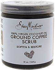 Shea Moisture 100% Virgin Coconut Oil Coffee Scrub by Shea Moisture for Unisex - 12 oz Scrub, 340 g