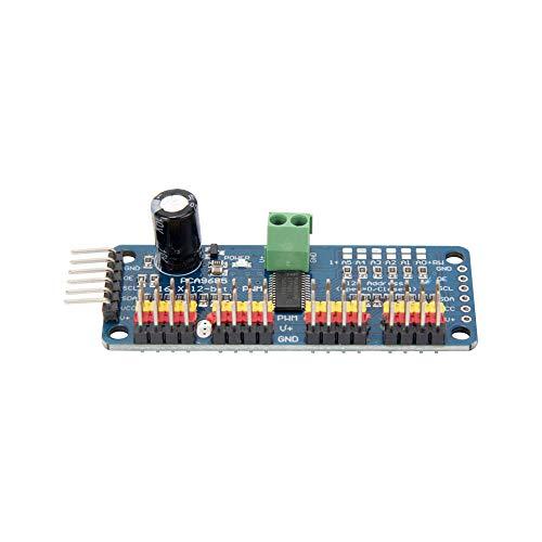 Oak-Pine 16 Channel 12 Bit PWM Servo Motor Driver IIC Interface PCA9685 Module Controller for Arduino Robot Raspberry Pi DIY Servo Shield Module