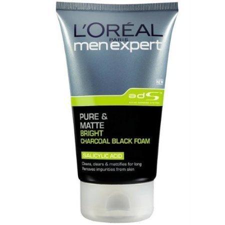 Price comparison product image L'Oreal Pure and Matt Charles Cole Black 100ml. Foam