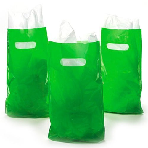 green-plastic-bags-50-pc