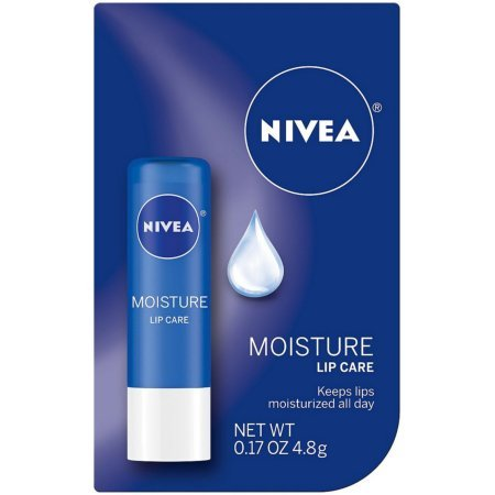 NIVEA A Kiss of Moisture Essential Lip Care 0.17 oz (Pack of 3)