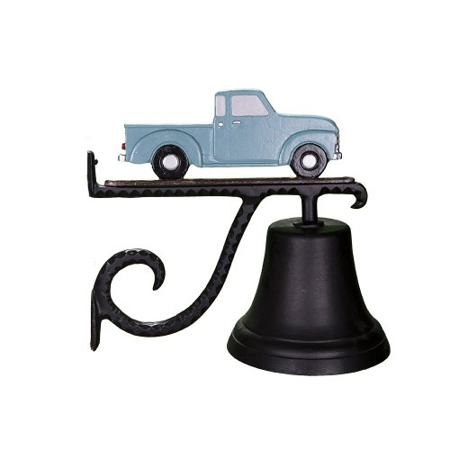 Montague Metal Products Cast Bell with Teal Classic Truck