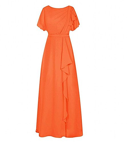 Orange Beauty KA A Damen Kleid Linie AHFwfq