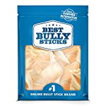 Best Bully Sticks Prime Thick-Cut Cow Ear Dog Chews (12 Pack) Sourced from All Natural, Free Range Grass Fed Cattle with No Hormones, Additives or Chemicals - Hand-Inspected and USDA/FDA Approved 9