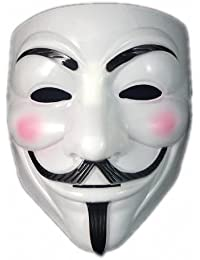 P&o V For Vendetta Mask Guy Fawkes Halloween Masquerade Party Face March Protest