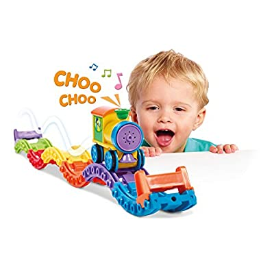 Toomies Tomy Choo Choo Loop Kids Train Toy Set: Toys & Games