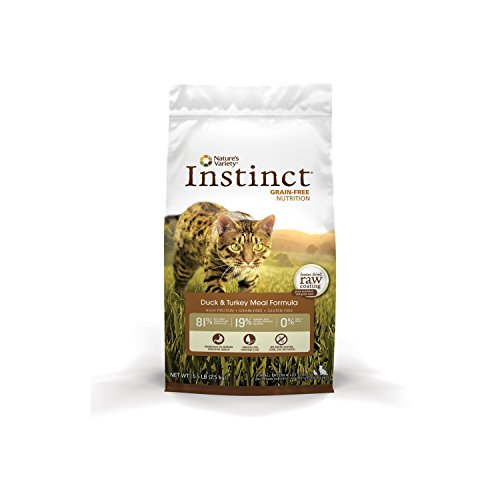 Nature's Variety Instinct Grain-Free Dry Cat Food 41W8KcrBUwL