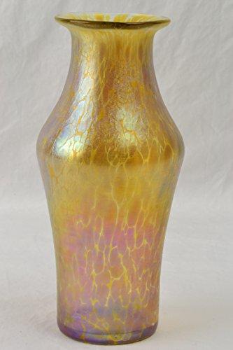 Loetz Glass Vase, 1898 Candia Papillon Cabinet Vase