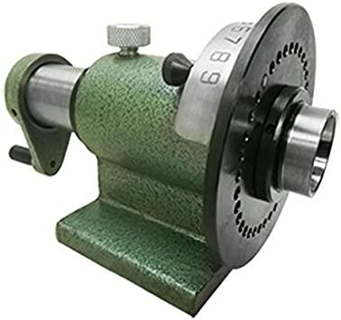Collet Spin Jig Indexing Fixture 5C for Grinders Milling Machine Indexing Tool