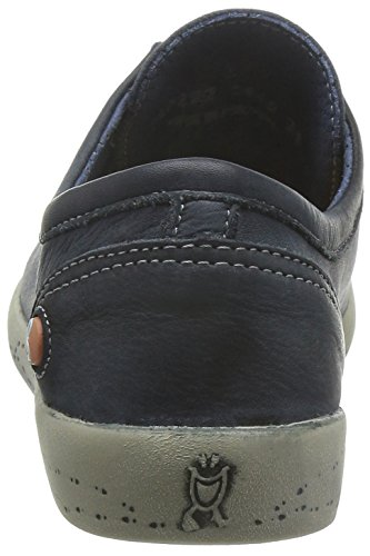 Isla Navy Washed Softinos Trainers Women's CxwFOOqSd