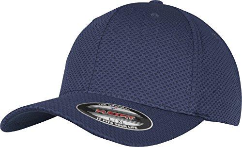 Flexfit 3D Hexagon Jersey Cap - navy - L/XL - Hat Cap Jersey
