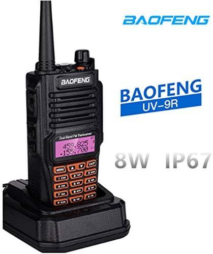 radtel Baofeng UV-9R 8Watts Walkie Talkie Radio BF-UV9R IP67 Waterproof Dual Band Ham Radio 8W UV 9R