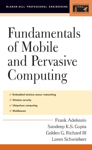 Fundamentals of Mobile and Pervasive Computing: Essentials of Movable Data (Telecom Engineering) (Mobile Ks)