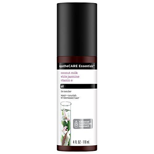 ApotheCARE Essentials The Mender Hair repair Oil, Coconut Milk, White Jasmine, Vitamin E, 4 oz by ApotheCARE Essentials
