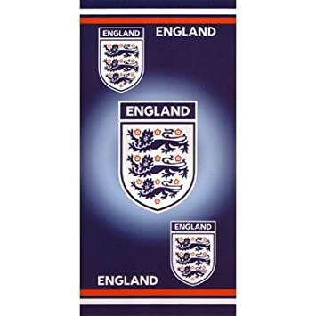 Serviette de plage 100% coton officielle de Football Angleterre (70 ...