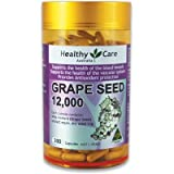Healthy Care Grape Seed Extract 12000 Gold Jar