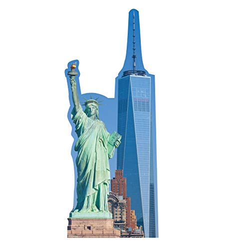 Liberty Cardboard - Advanced Graphics New York Skyline Life Size Cardboard Cutout Standup