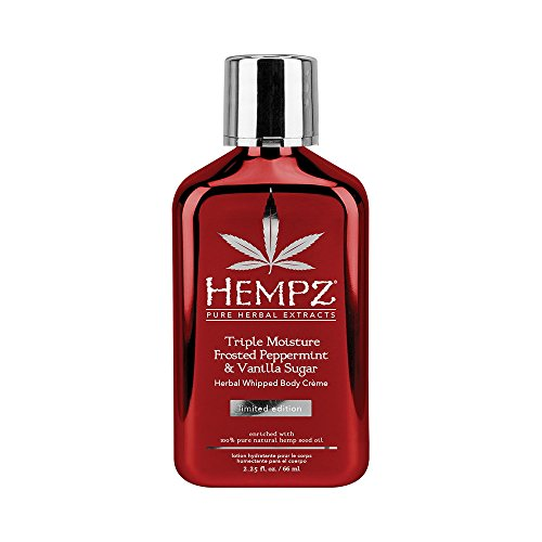 Hempz 2017 Limited Edition Triple Moisture Frosted Peppermint & Vanilla Sugar 2.25oz
