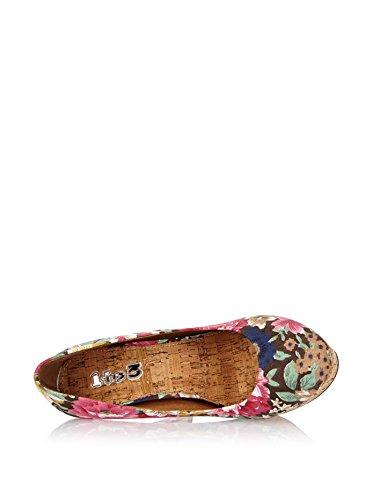 38 1 Reine de To3 EU tacón Zapatos Multicolor Oq04O