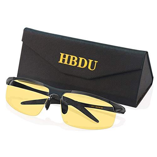 9e0f276cef HD Vision Night Driving Glasses, Anti Glare Polarized Lenses for Men Women,  Ultra Light