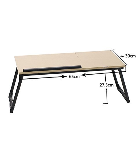 41W8NEftTKL - NEW PORTABLE TABLE! Car Couch Bed Sofa Folding For PC Laptop Notebook Desk Stand Adjustable #217