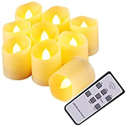 AMIR Flameless Candles, Flickering LED T...