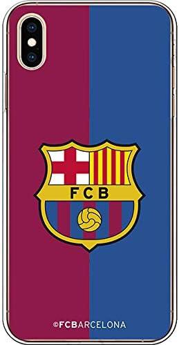 FC. Barcelona Carcasa Escudo FCB blaugrana para iPhone XS MAX: Amazon.es: Electrónica