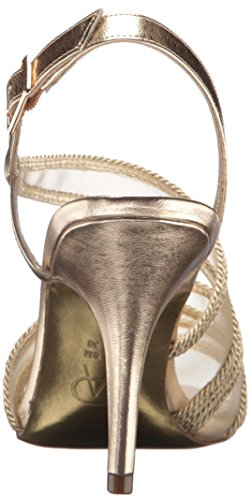 Papell Talon Femmes Sandales Metallic Rope À Platino Adrianna PTdqT