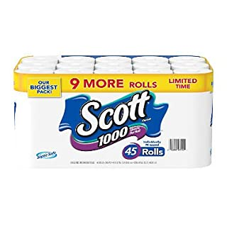 Scott 1000 Limited Edition Bath Tissue (1,000 Sheets, 45 Rolls) (B07D71LVSH) | Amazon price tracker / tracking, Amazon price history charts, Amazon price watches, Amazon price drop alerts