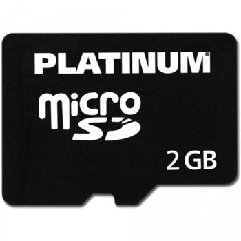 Platinum micro-tarjeta SD 2 GB con adaptador: Amazon.es ...