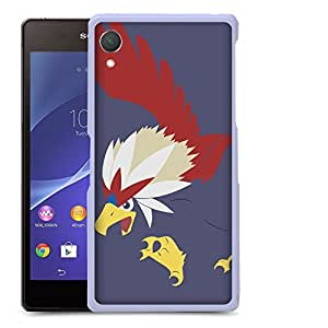 Case88 Designs Pokemon Braviary Protective Snap-on Hard Back Case Cover for Sony Xperia Z2