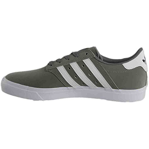 footwear Uomo White Solid Premiere Adidas Seeley Skate footwear Charcoal White Grey Shoe gwvn7nqzx