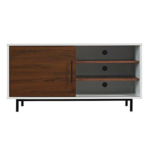 "Pamari 299030 Rosalina Two-Tone TV Stand for TVs up to 55"" &"