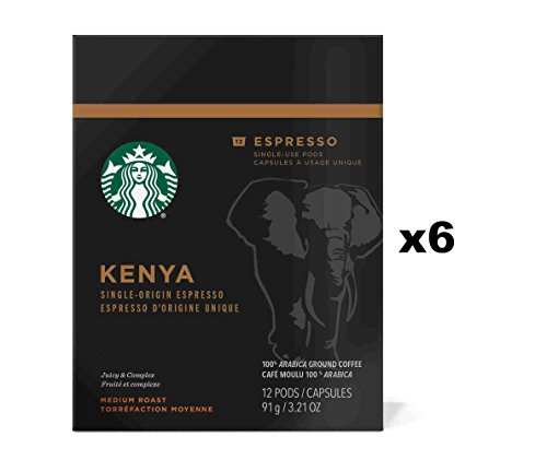 Starbucks Kenya Espresso Verismo Pods (72 Count)