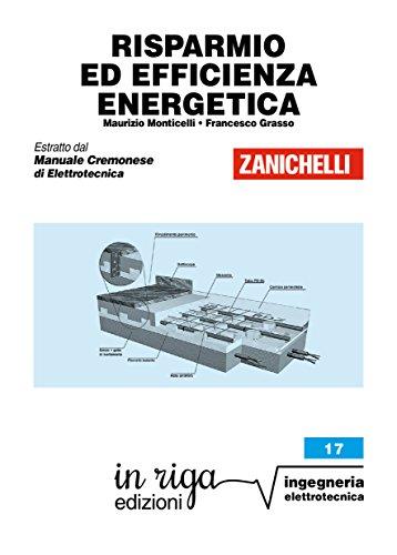 Riga Led (Risparmio ed efficienza energetica: Coedizione Zanichelli - in riga (in riga ingegneria Vol. 17) (Italian Edition))