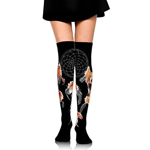 ks Over Knee Dream Catcher Extra Long Tube Dress Legging Slim Look (Dream Season Boots)