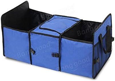 Queenwind 車の野外活動のための防水絶縁機能が付いているオックスフォードの布の収納袋-青