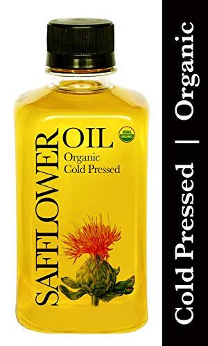 Daana Organic Safflower Oil: Cold Pressed, High Oleic (12 oz)