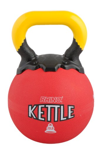 Champion Sports Rhino Kettle Bell Weights, 20-Pound by Champion Sports