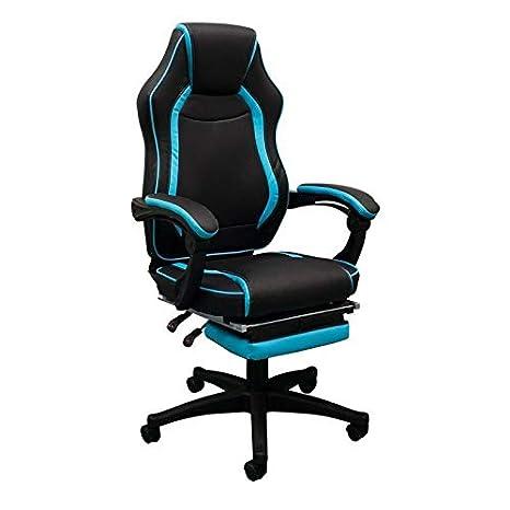 Regalos Miguel - Sillas Gaming - Silla Nitro - Azul Celeste: Amazon.es: Hogar