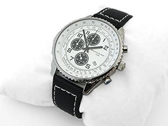 Masterline1966 Herren Chronograph Edelstahl Armbanduhr Tachymeter ML04306001