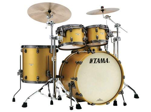 Tama Starclassic Maple Shell Pack - 4-piece - Satin Aztec Gold