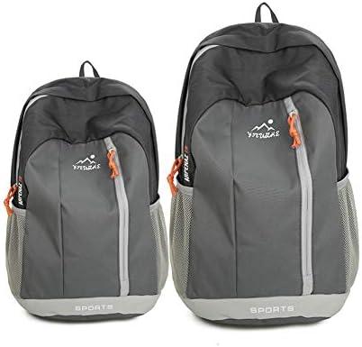 Quzama-JS 折りたたみ リュック バッグパック 超軽量 防水 アウトドア 旅行 キャンプ ハイキング サイクリング スキー 登山用(グレー)