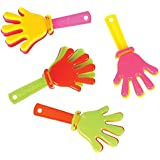 """3"""" Hand Clappers - Hand Bangers, 144 Pack of Hand Applauding, Noisemaker Toy for Game Event, Christmas Present, Party Favors, Easter Hunting, Event Giveaways"""
