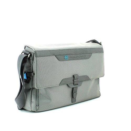 Bolsa Piquadro de mensajero porta ordenador con solapa ca2995w57-gr2