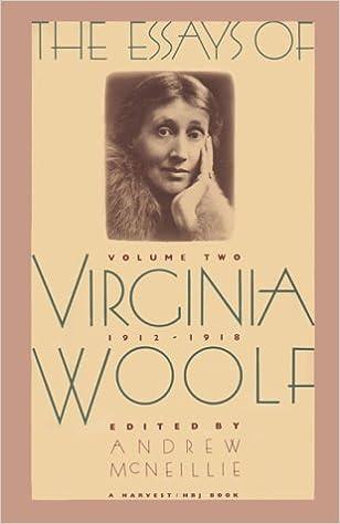 Amazon com the essays of virginia woolf vol 2 1912 1918